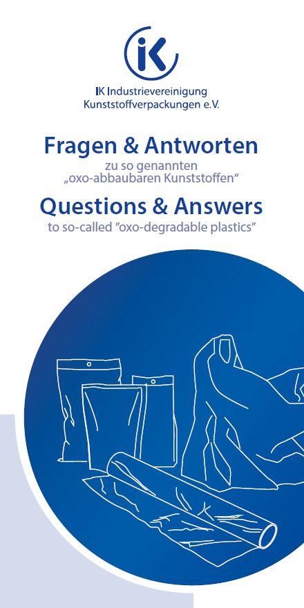 """Fragen & Antworten zu so genannten """"oxo-abbaubaren Kunststoffen"""" Vorschau"""