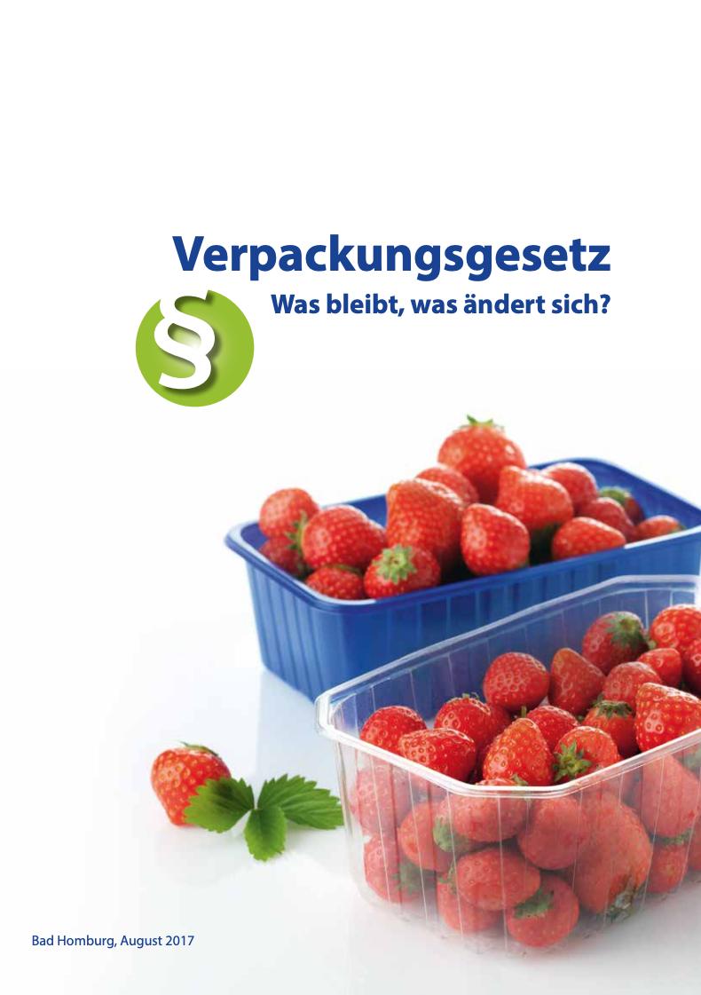 Verpackungsgesetz - Was bleibt, was ändert sich? Vorschau