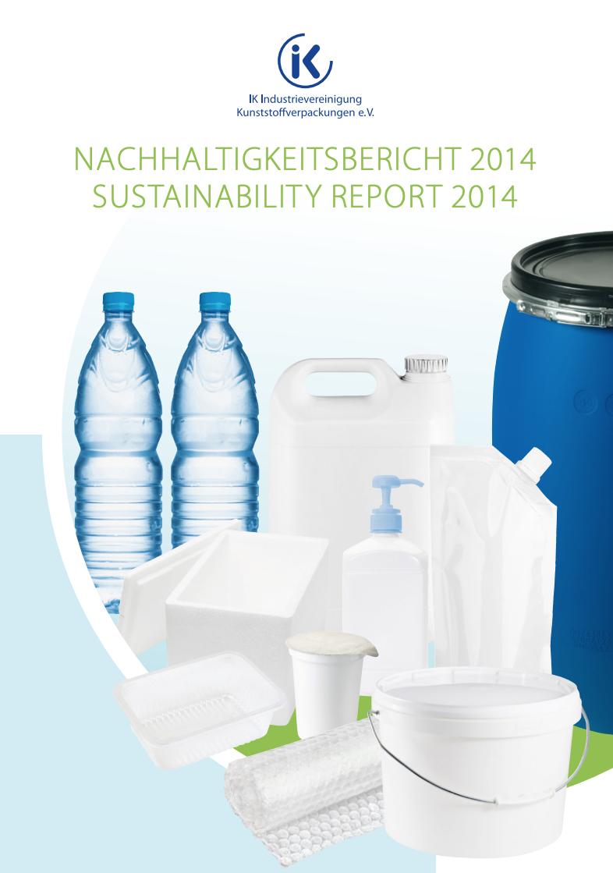 IK-Nachhaltigkeitsbericht 2014 Vorschau