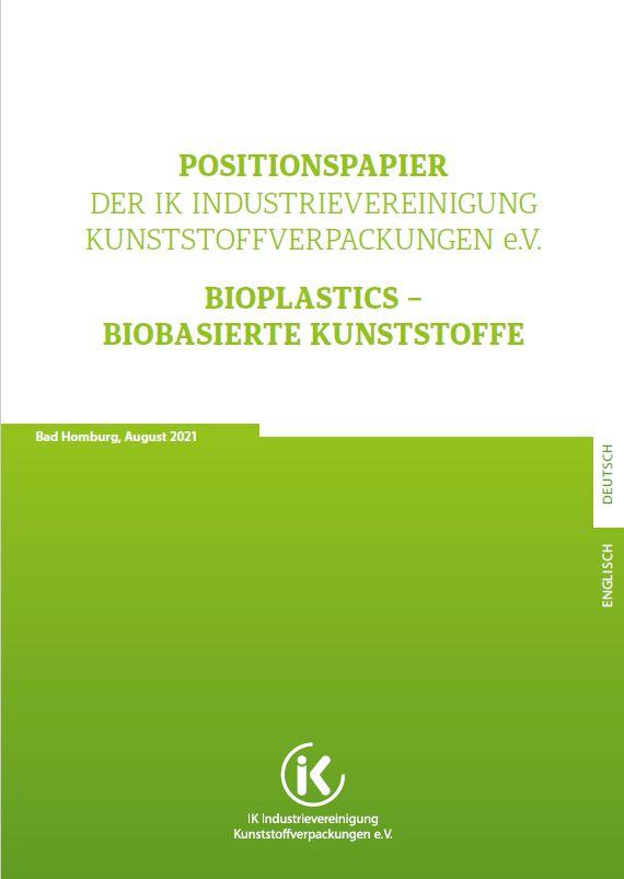 Position Paper Bioplastics - bio-based plastics Vorschau