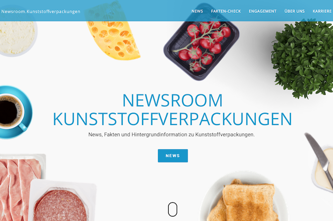 Neuer Newsroom Kunststoffverpackungen Online