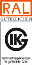 Logo RAL Kunststoffverpackungen Gefahrengüter